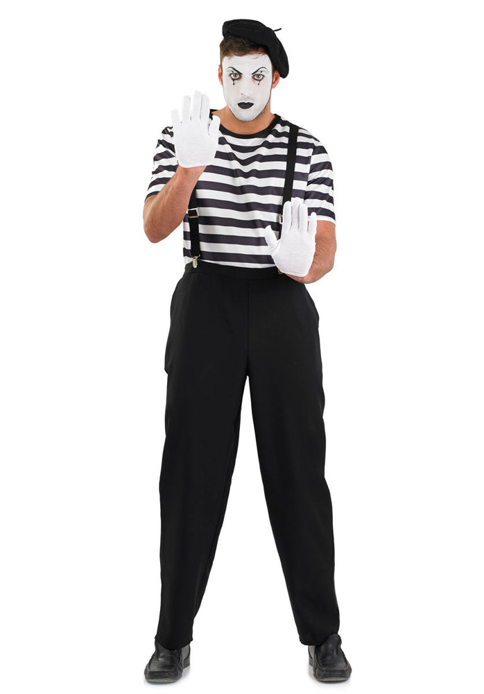 Artist Male Mime Costume