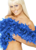 Boa Blue, Royal, Bargain, 2 YDS, 80grms Smiffys fancy dress