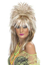Rock Diva Sparkle Wig - Blonde and Brown