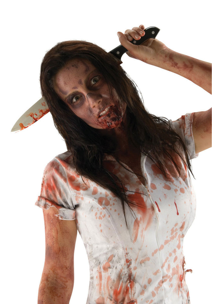 Kitchen Knife In Head, The Walking Dead