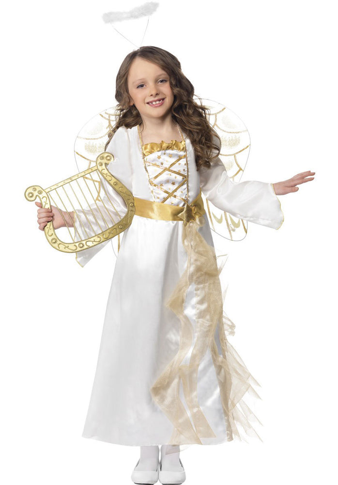Kids Angel Princess Costume, Girl Christmas Fancy Dress