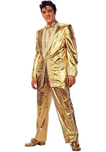 Elvis Stand Up Cut Out, Gold Lame Suit.
