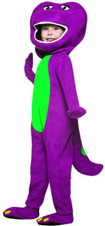 Barney The Dinosaur Costume, Childrens TV Fancy Dress