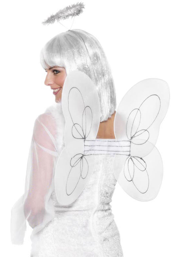 Fairy Set White Wings