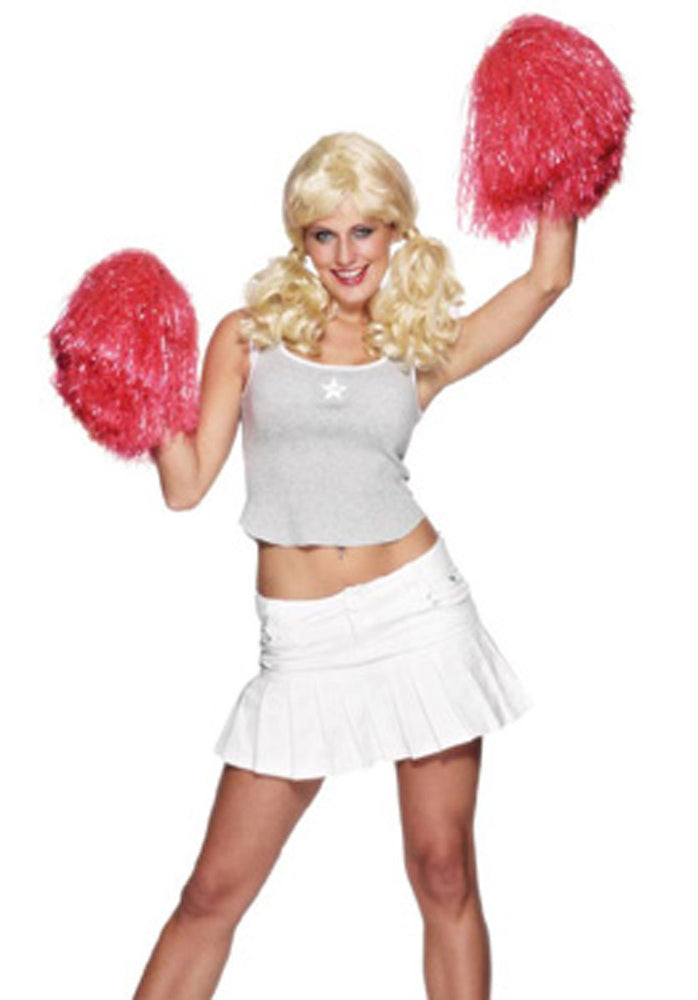 Pom Pom, Extra Large Red Smiffys fancy dress