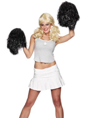 Pom Pom, Extra Large Black Smiffys fancy dress