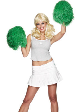 Pom Pom, Extra Large , Green Smiffys fancy dress