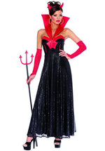 Hollywood Devil Costume, Black