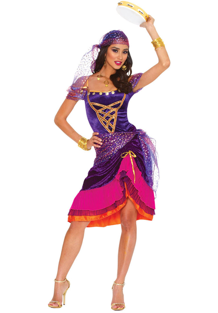 Magical Gypsy Costume, Fantasy Fancy Dress