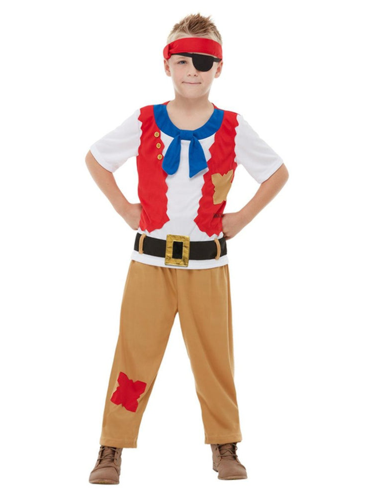Smiffys Horrible Histories Pirate Crew Costume - 48778