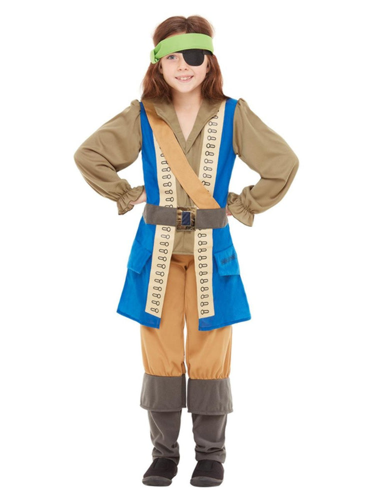Smiffys Horrible Histories Pirate Captain Costume - 48779