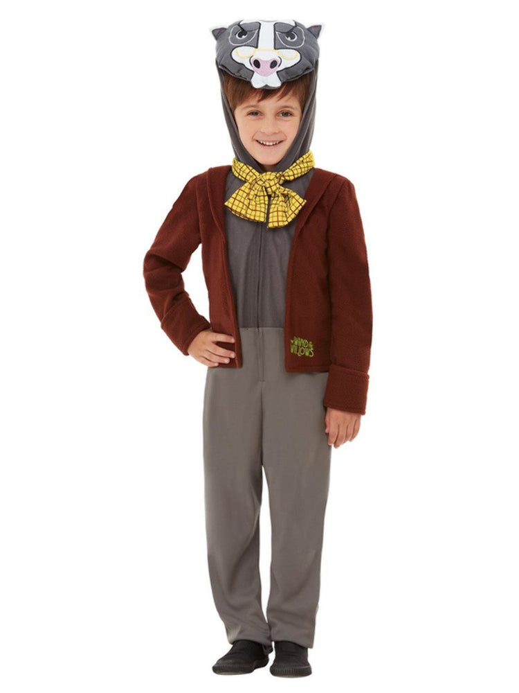 Smiffys Wind in the Willows Badger Deluxe Costume - 48782