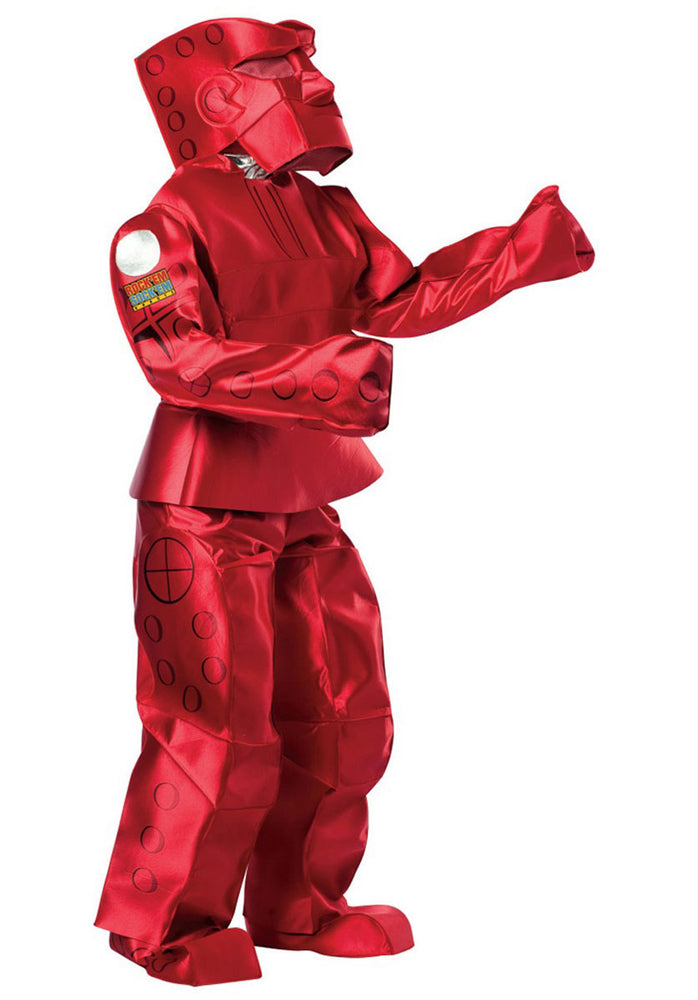 Rock Em Sock Em Robot Red Costume