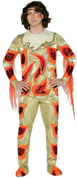 Blades Of Glory™, Fire Orange Chazz Michael Michaels Costume, Movie Fancy Dress