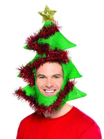 Smiffys Novelty Christmas Tree Hat - 49136