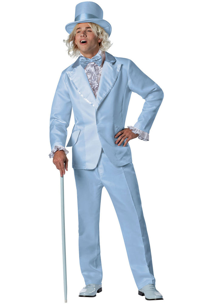 Harry Dumb & Dumber Blue Tuxedo Costume
