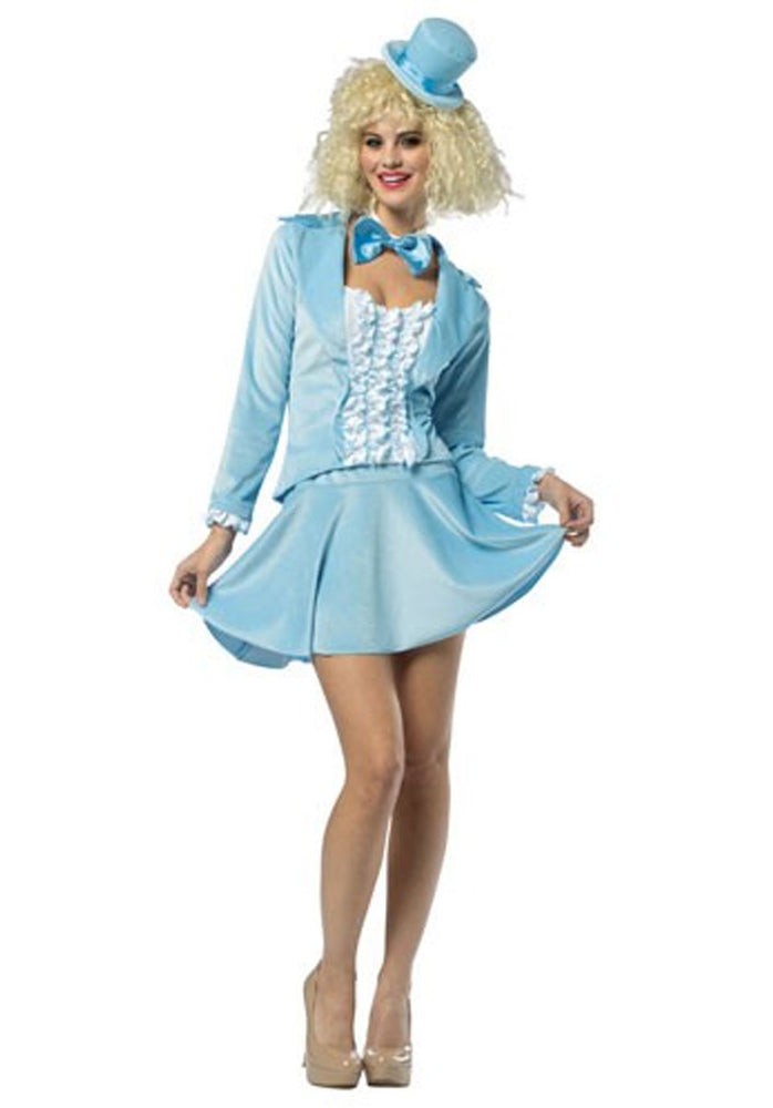 Ladies Dumb & Dumber Blue Costume, Harry Outfit