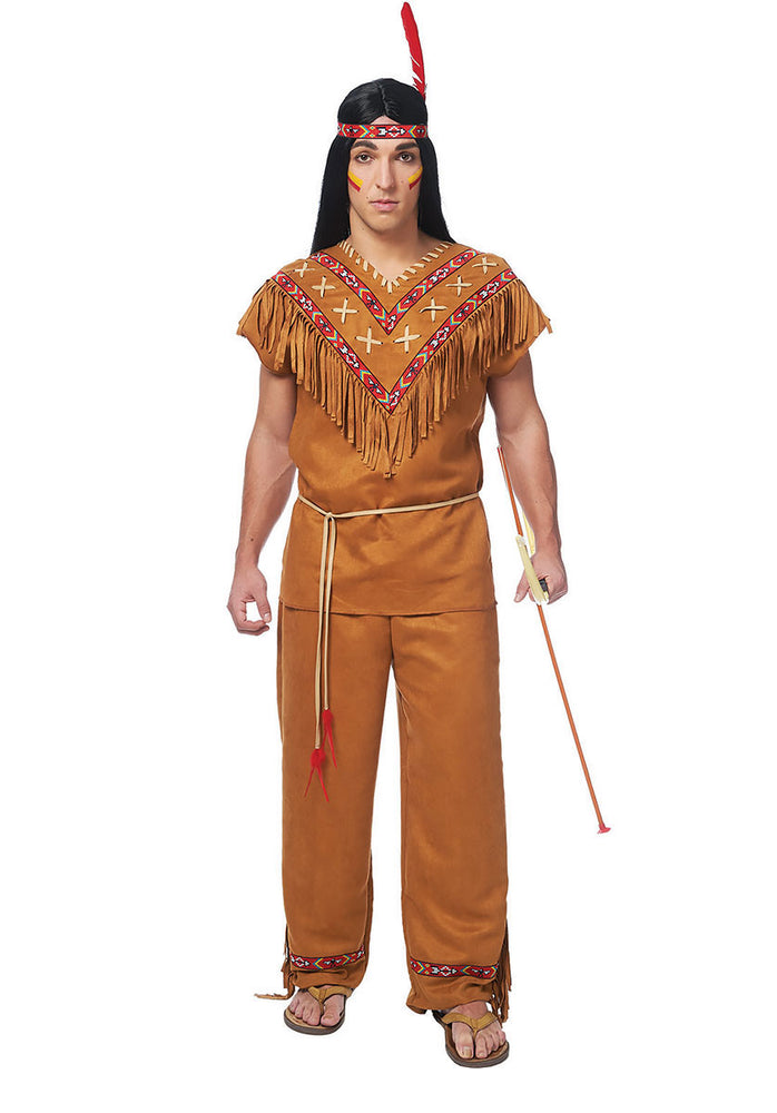 Native American Man Indian Costume