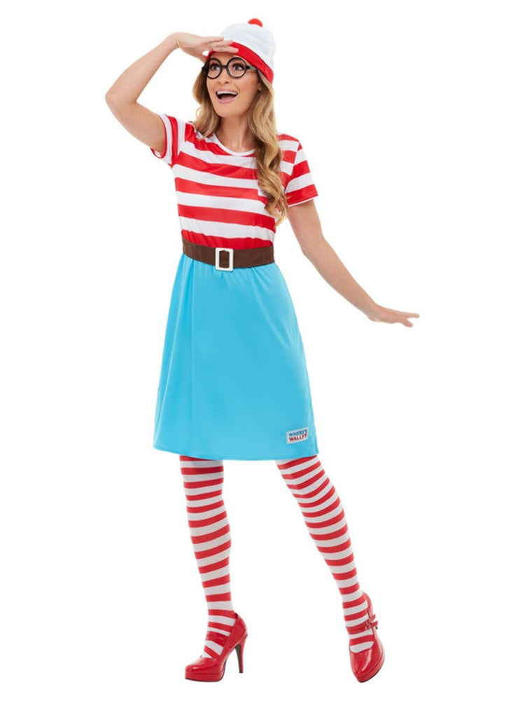 Smiffys Adults Where's Wally? Wenda Costume - 50281