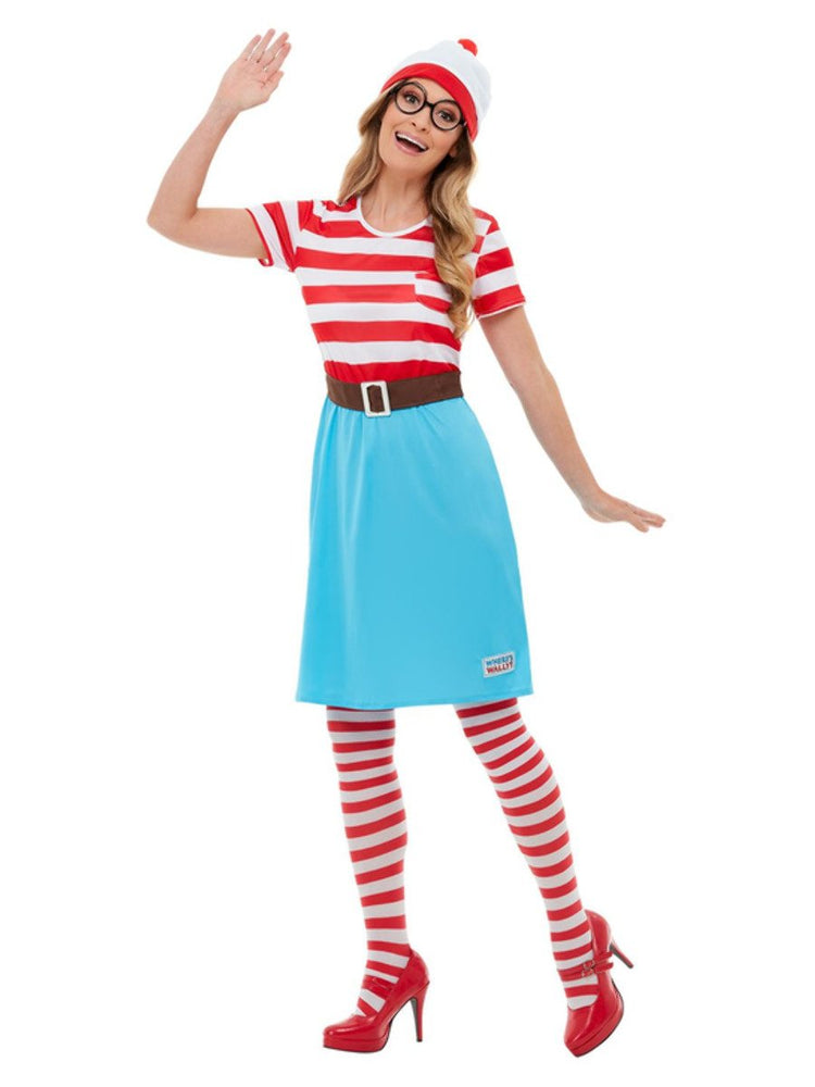 Adults Where's Wally? Wenda Costume50281