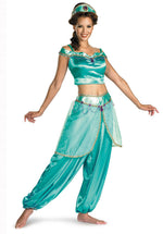 Jasmine Costume Deluxe Fancy Dress