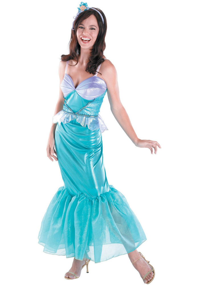 Ariel Deluxe Costume, Little Mermaid Fancy Dress