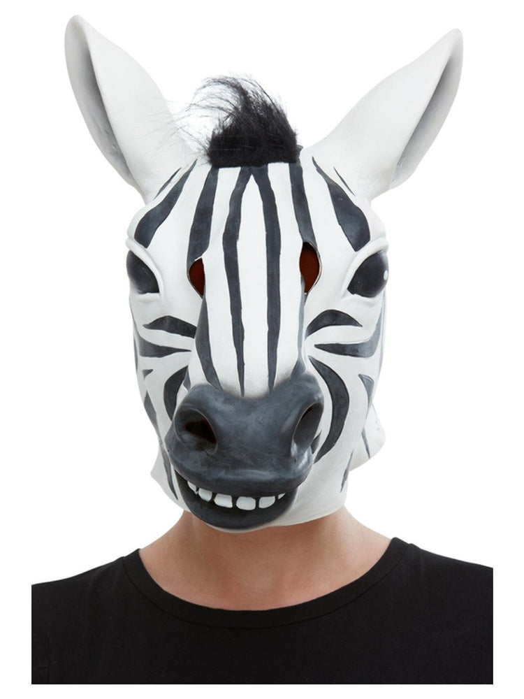 Smiffys Zebra Latex Mask - 50882