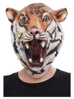 Smiffys Tiger Latex Mask - 50884