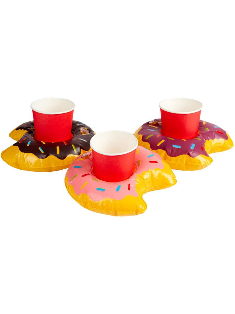 Inflatable Donut Drink Holder Ring50886