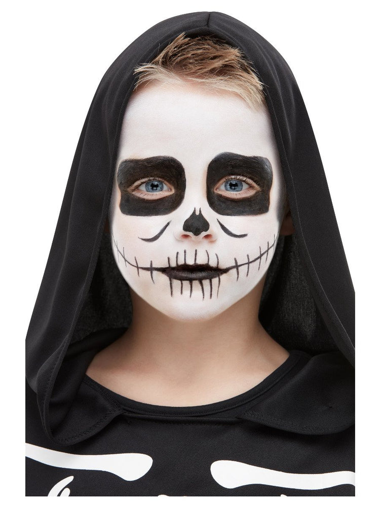 Smiffys Smiffys Make-Up FX, Kids Skeleton Kit, Aqua - 50908