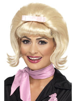 Smiffys 50s Flicked Beehive Bob, Blonde - 43229