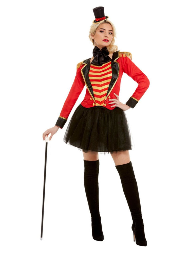 Ringmaster Lady Costume Deluxe