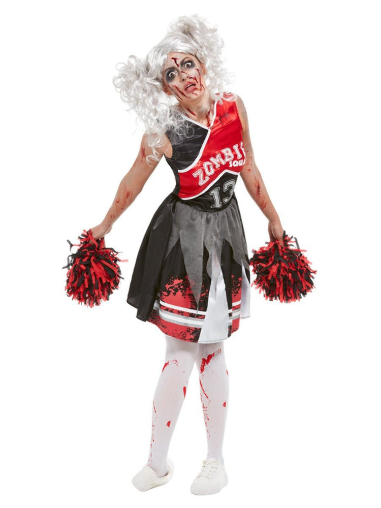 Cheerleader Zombie Costume - S