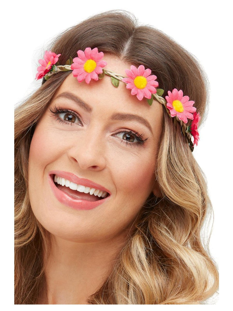 Smiffys Hawaiian/Hippie Daisy Chain Headband - 52016