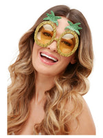 Smiffys Tropical Pineapple Glitter Glasses - 52032