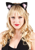Leather Look Cat Ears