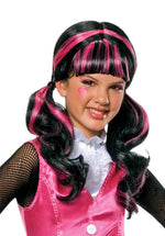 Monster High Draculaura Wig, Child Size Halloween Wig