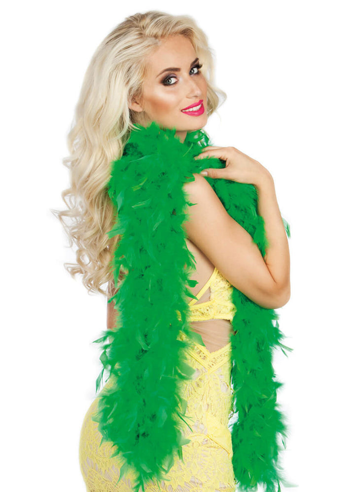 Feather Boa 50g Grass Green