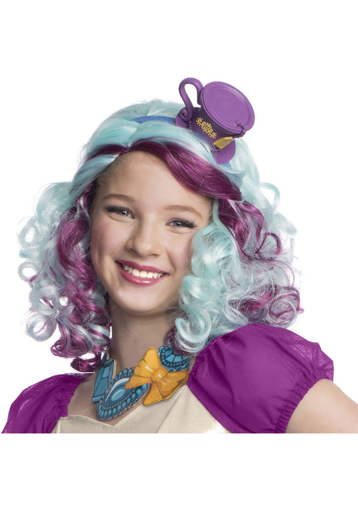 Madeline Hatter Wig with Headpiece - Ever After High