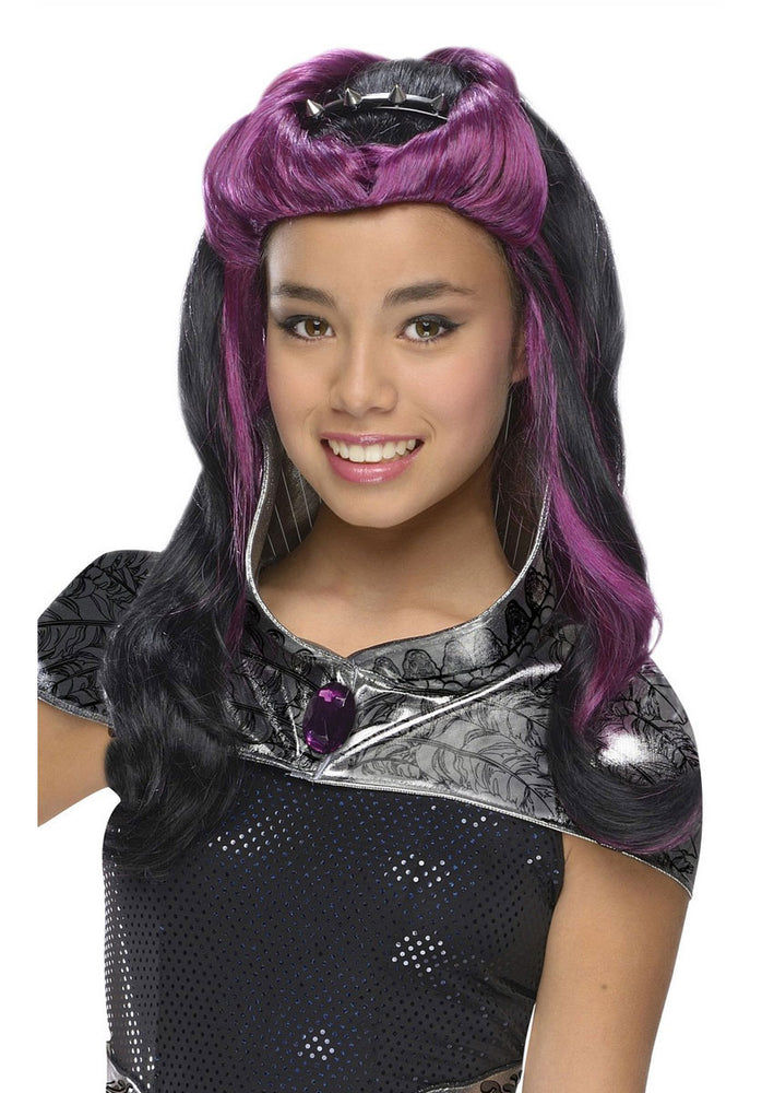 Raven Queen Child Wig - Ever After High