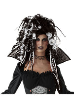 Eternal Seductress Wig Black & White