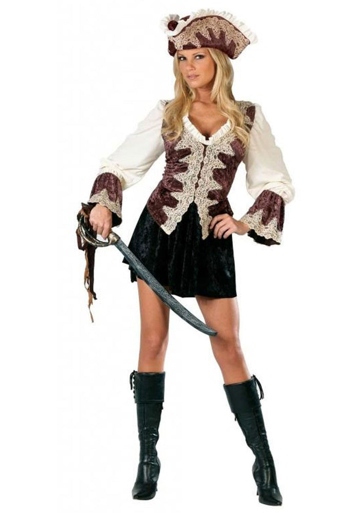 Royal Pirate Lady Costume