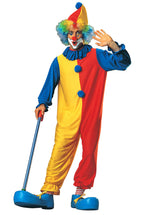 Three Toned Clown Costume - Circus Fancy Dress