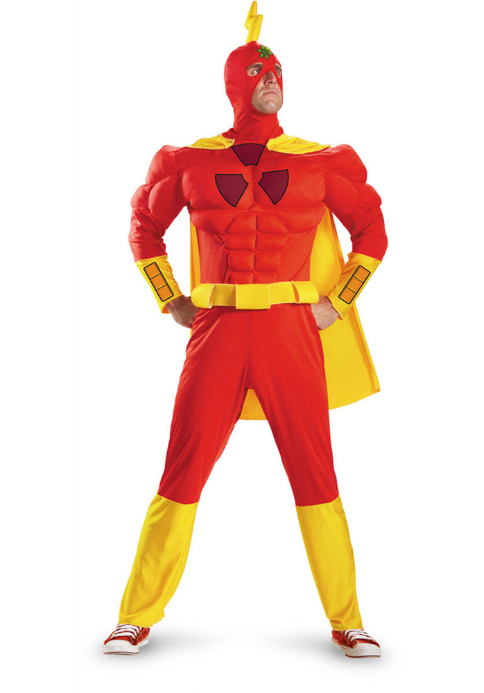 Simpsons Radioactive Man Costume, Muscle Chest