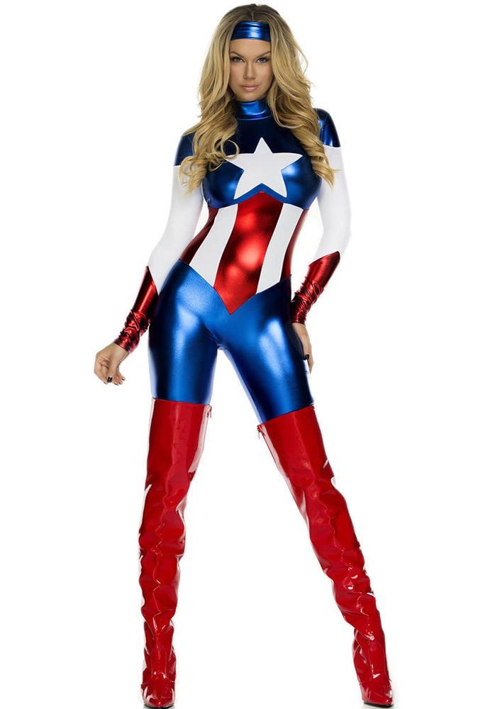 Astonishing Allegiance Costume Forplay Fancy Dress