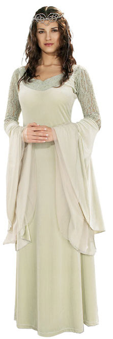 Arwen Costume Queen Deluxe, Lord Of The Rings™ Fancy Dress