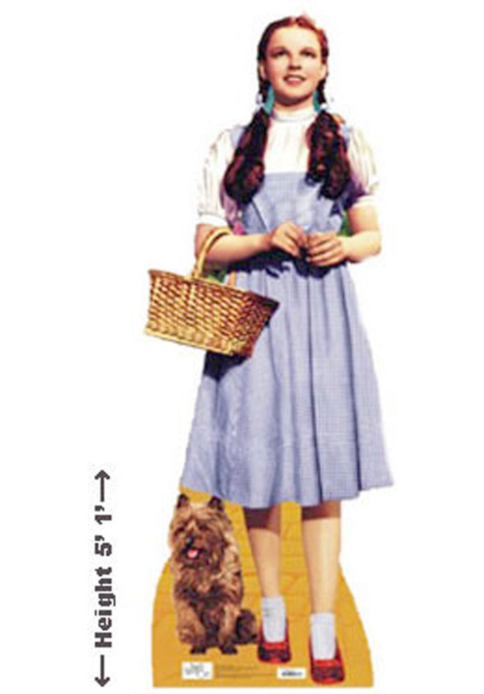 Dorothy and Toto Stand Up Cardboard Cutout.