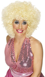 Dolly Blonde Wig, Curly ,Smiffys fancy dress