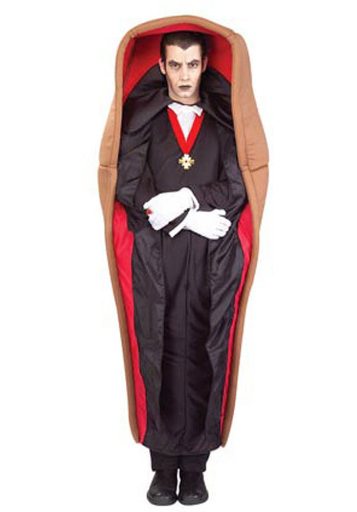 Adult Dracula in the Coffin Costume