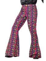 60's Psychedelic CND Flared Mens Trousers